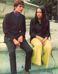 The Eye of Faith Vintage Blog Shop- Style Inspiration- Romeo and Juliet- Olivia Hussey Leonard Whiting - 1967 1968 mod fashion stars 7