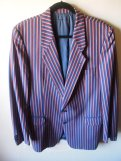 The Eye of Faith Vintage Blog Shop- Style Inspiration- Romeo and Juliet-Romeo Mens Fashion Clothing- Stripe Blazer