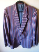 The Eye of Faith Vintage Blog Shop- Style Inspiration- Romeo and Juliet-Romeo Mens Fashion Clothing- Stripe Blazer