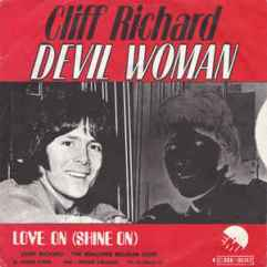 DEVIL WOMAN- Cliff Richard- The Eye of Faith Vintage Style Blog Shop- Album