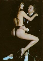 The Eye of Faith Blog Shop - Vintage Inspiration - Serge Gainsbourg Jane Birkin Helmut Newton- Original Bad Ass Couple- 1