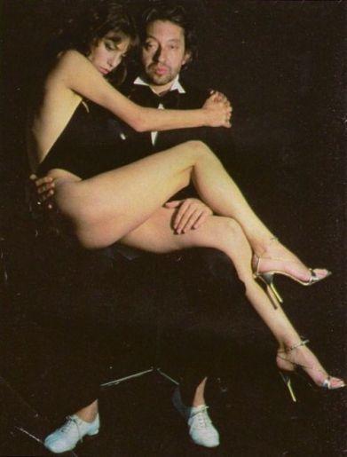 The Eye of Faith Blog Shop - Vintage Inspiration - Serge Gainsbourg Jane Birkin Helmut Newton- Original Bad Ass Couple- 2