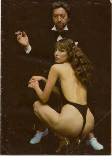 The Eye of Faith Blog Shop - Vintage Inspiration - Serge Gainsbourg Jane Birkin Helmut Newton- Original Bad Ass Couple- 3