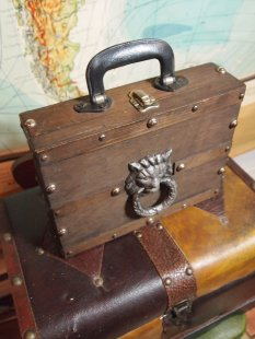 The Eye of Faith Vintage Shop Mysterious Wooden Box Jack Parsons Inspiration