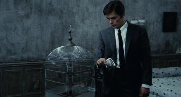 Alain Delon - The Eye of Faith Vintage Blog Shop- Cannes Honor Style Fashion-bird cage samourai