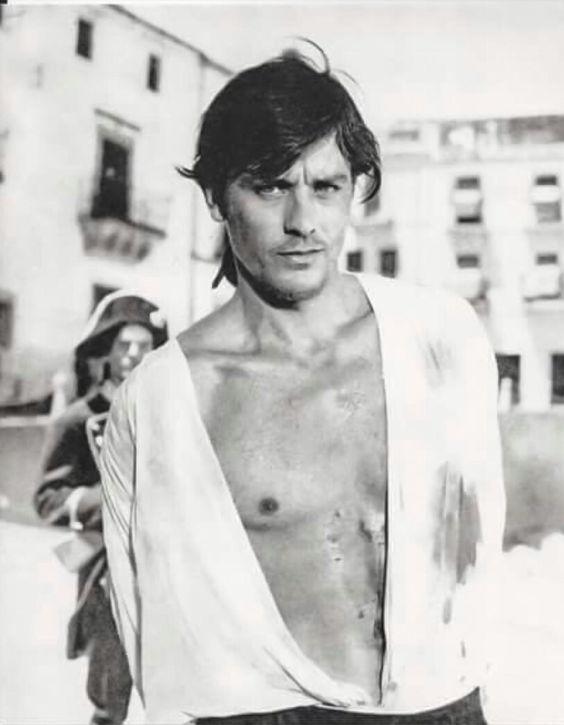 Alain Delon - The Eye of Faith Vintage Blog Shop- Cannes Honor Style Fashion-black tulip
