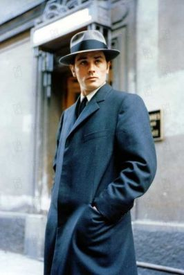 Alain Delon - The Eye of Faith Vintage Blog Shop- Cannes Honor Style Fashion-le samourai 2