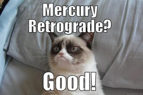 The Eye of Vintage Blog Shop-Mercury Retrograde 2019-crazy cat meme
