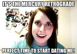 The Eye of Vintage Blog Shop-Mercury Retrograde 2019-crazy girl meme