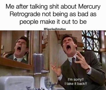 The Eye of Vintage Blog Shop-Mercury Retrograde 2019-hilarious meme