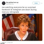 The Eye of Vintage Blog Shop-Mercury Retrograde 2019-judge judy not having it