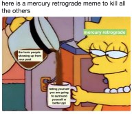 The Eye of Vintage Blog Shop-Mercury Retrograde 2019-lisa simpson meme