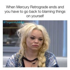 The Eye of Vintage Blog Shop-Mercury Retrograde 2019-trisha peytas meme